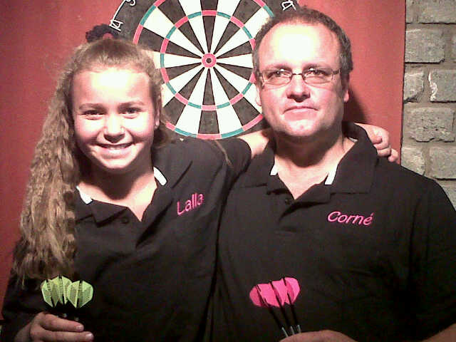 Corne with Daughter